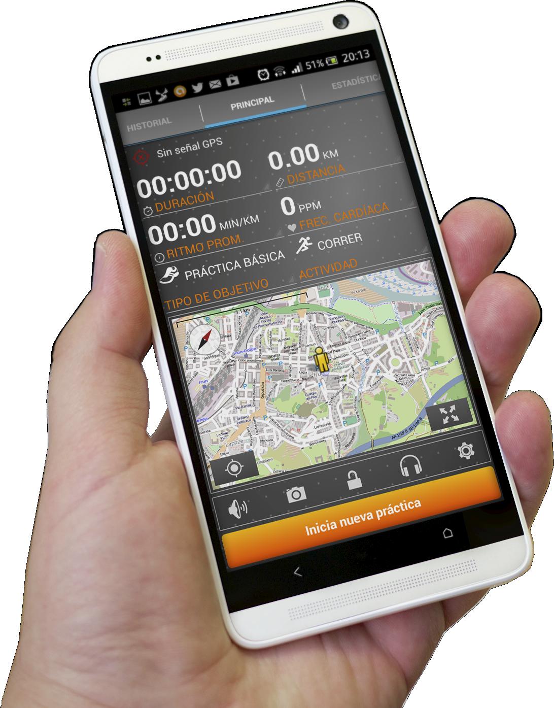 MoveOn Sports Tracker para Android