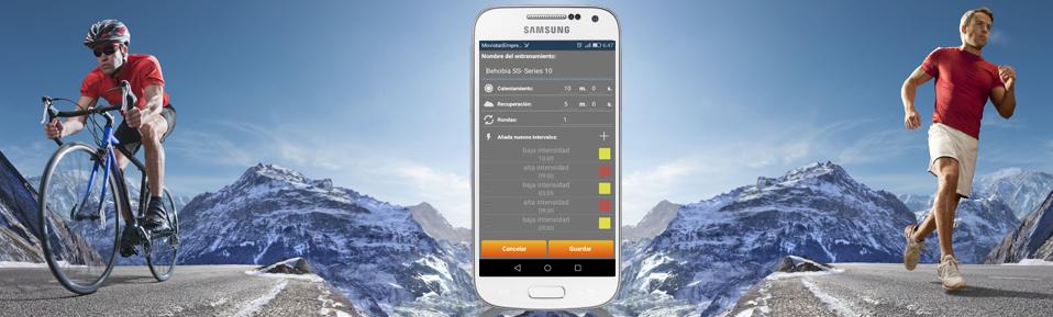 Entrenamiento por intervalos app gratis