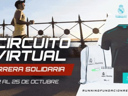 Fundación Real Madrid: Circuito Virtual de Carreras Solidarias